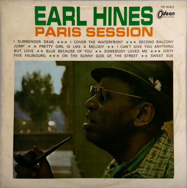 EARL HINES <BR>PARIS SESSION