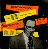 BENNY GOODMAN AND HIS ORCHESTRA, TRIO AND QUARTET <BR>JAZZ CONCERT NO.2