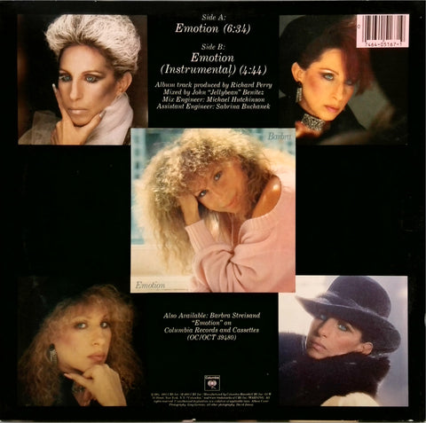BARBRA STREISAND <BR>EMOTION
