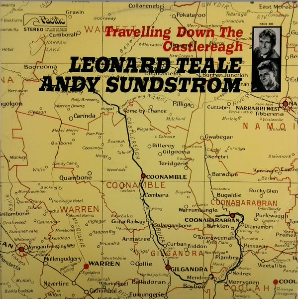 LEONARD TEALE, ANDY SUNDSTROM <BR>TRAVELLING DOWN THE CASTLEREAGH