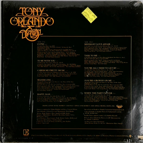 TONY ORLANDO AND DAWN <BR>TO BE WITH YOU