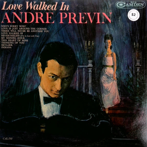 ANDRE PREVIN <BR>LOVE WALKED IN