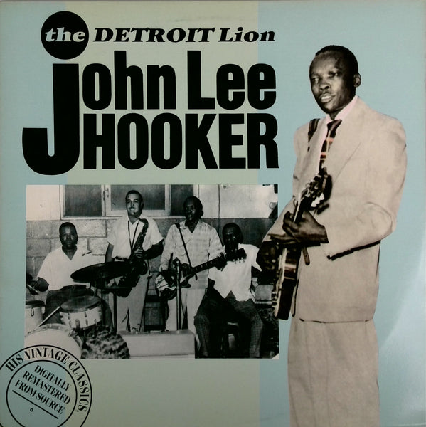 JOHN LEE HOOKER <BR>DETROIT LION