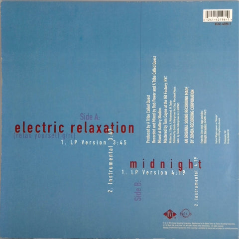 A TRIBE CALLED QUEST <BR>ELECTRIC RELAXATION