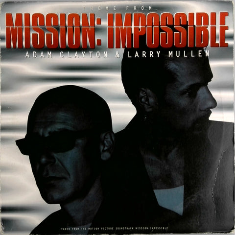 Adam Clayton and Larry Mullen <BR>Mission Impossible