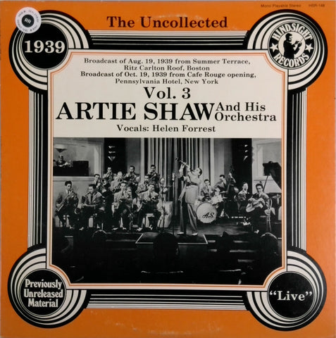 ARTIE SHAW AND HIS ORCHESTRA <BR>VOL. 3