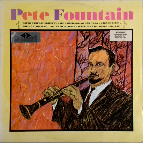 PETE FOUNTAIN <BR>PETE FOUNTAIN