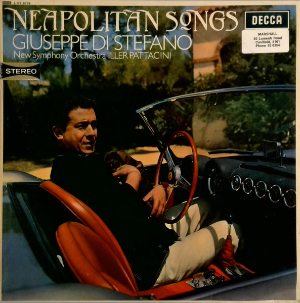 THE NEW SYMPHONY ORCHESTRA (ILLER PATTACINI) <BR>NEAPOLITAN SONGS