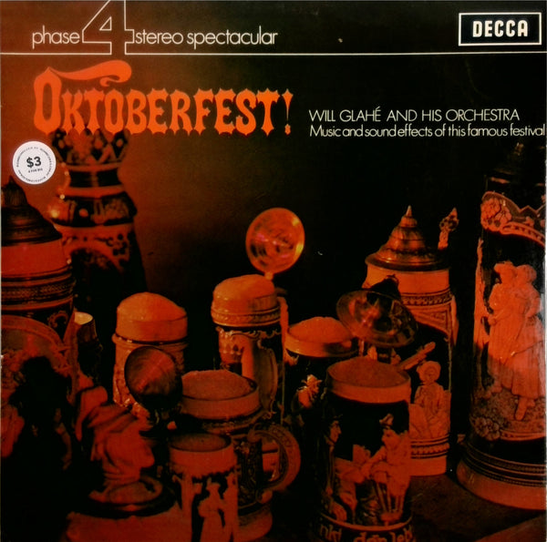WILL GLAHE AND HIS ORCHESTRA <BR>OKTOBERFEST!