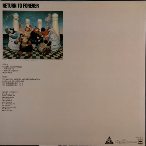 Return to Forever <br>Return to Forever