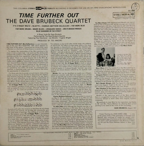 The Dave Brubeck Quartet <br>Time Further Out