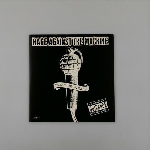 Rage Against The Machine <br>Bulls On Parade 7""