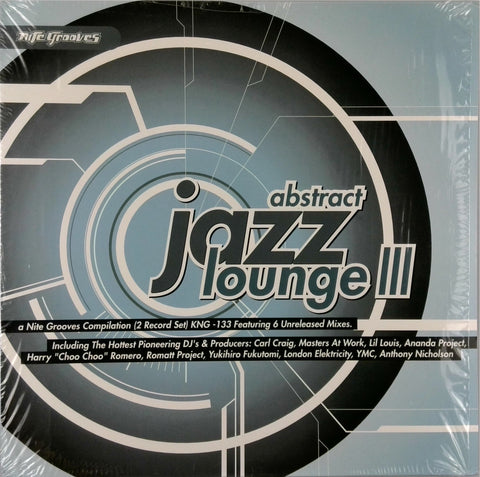 Various <br>Abstract Jazz Lounge III
