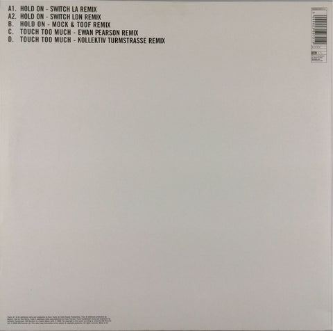 Hot Chip <br>Hold On / Touch Too Much Remixes