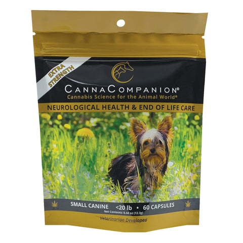 Extra Strength CBD Capsules for Small Dogs (60 count)