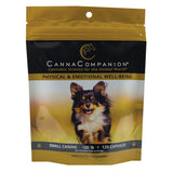 package of 120 cbd capsules for small dogs