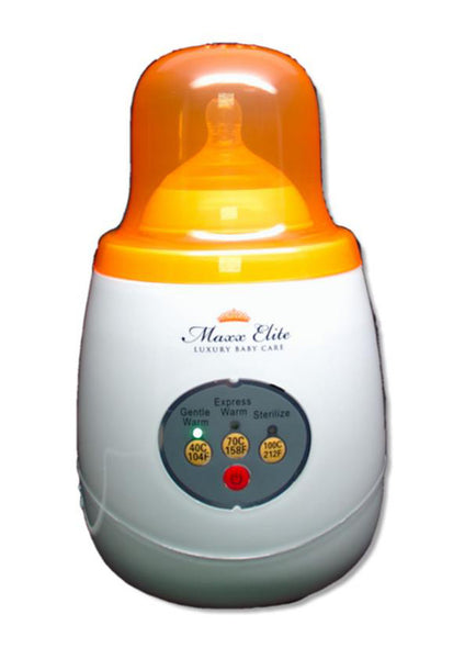 "Maxx Elite ""Gentle Warm"" Bottle Warmer & Sterilizer"