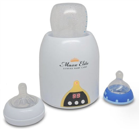 "Maxx Elite ""Intel-A-Temp"" Bottle Warmer & Sterilizer"