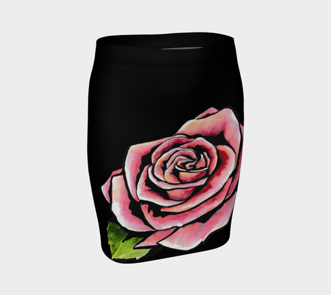 Deco Rose Tattoo Skirt - AsIfTattooed.com