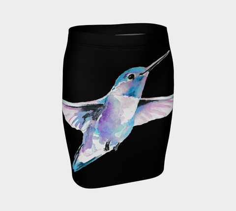 Humming Bird Tattoo Skirt - AsIfTattooed.com