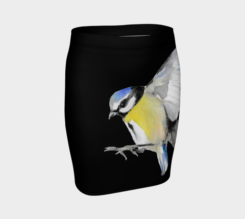 Watercolor Bird Tattoo Skirt - AsIfTattooed.com
