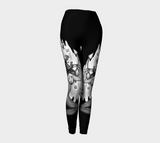 Never Sink Anchor Tattoo Leggings - AsIfTattooed.com