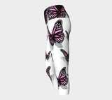Butterfly yoga Capris - AsIfTattooed.com