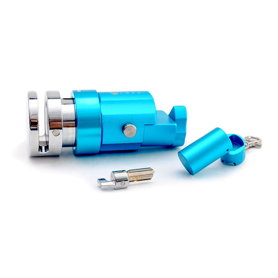 V.1 Motorcycle Disc Lock - BLUE