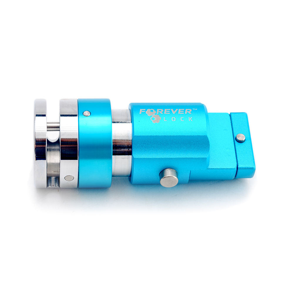 V.2 Motorcycle Disc Lock - BLUE
