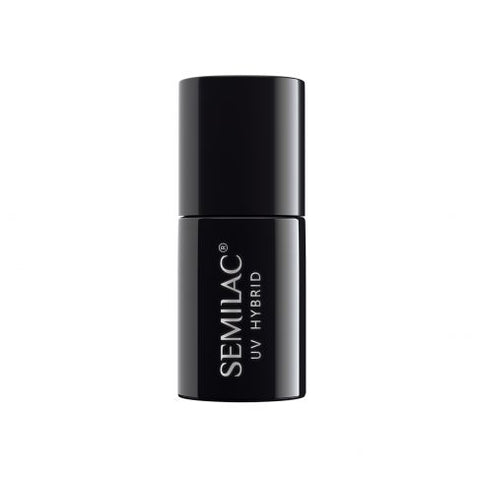 "001 Strong White - Semilac Soak Off Gel / Hybrid Nail Polish - ""Black & White"" Collection - SemilacUSA"