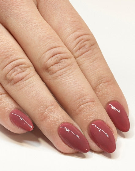 "005 Berry Nude - Semilac Soak Off Gel / Hybrid Nail Polish - ""Allure"" Collection - SemilacUSA"