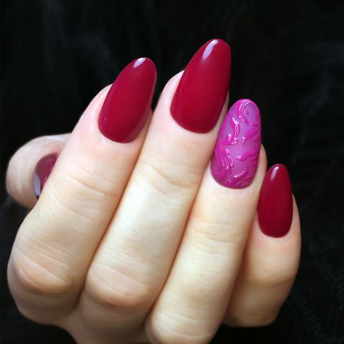"028 Classic Wine - Semilac Soak Off Gel / Hybrid Nail Polish - ""Hottie!"" Collection - SemilacUSA"
