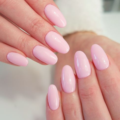 "056 Pink Smile - Semilac Soak Off Gel / Hybrid Nail Polish - ""Special Day"" Collection - SemilacUSA"