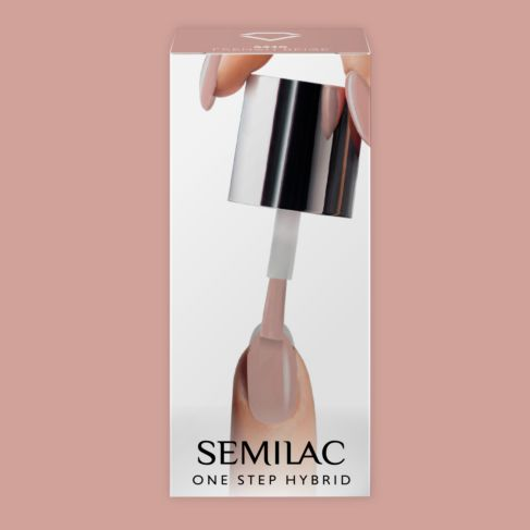 210 FRENCH BEIGE Semilac STEP ONE Hybrid / Gel Polish 5 ml Bottle