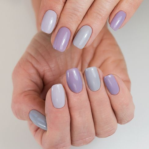 "223 Soft Grey - Similac Soak Off Gel / Hybrid Nail Polish - ""Business Line"" Collection - SemilacUSA"