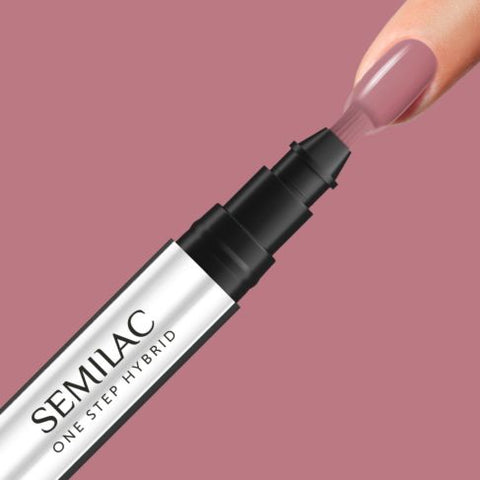 240 PEACH BEIGE Semilac STEP ONE Hybrid / Gel Polish Marker - SemilacUSA