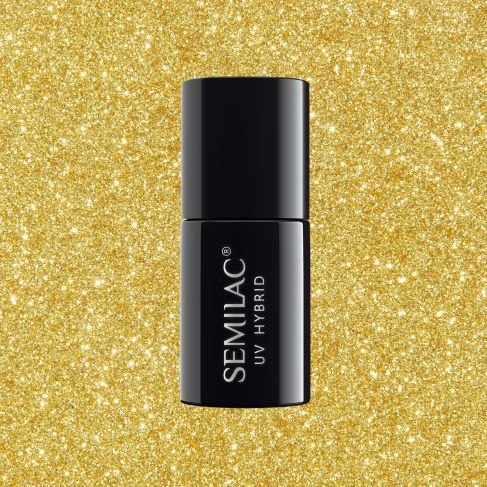 261 YELLOW GOLD - Semilac Soak Off Gel / Hybrid Nail Polish - SemilacUSA