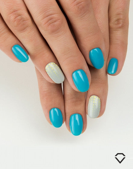 523 Delicate Blue - Semilac Soak Off Gel / Hybrid Nail Polish