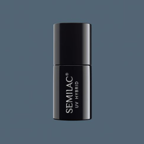525 NAVY GREY - Semilac Soak Off Gel / Hybrid Nail Polish - SemilacUSA
