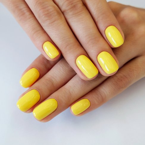 531 JOYFULL YELLOW Semilac Soak Off Gel / Hybrid Nail Polish - CELEBRATE COLLECTION - SemilacUSA