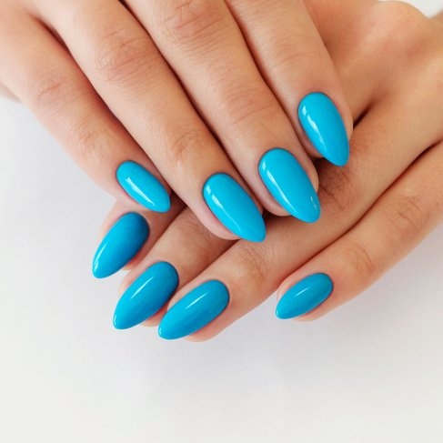 534 FREEDOM BLUE Semilac Soak Off Gel / Hybrid Nail Polish - CELEBRATE COLLECTION - SemilacUSA