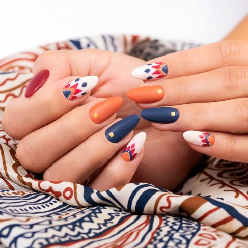 540 GO VENEZUELA! Semilac Soak Off Gel / Hybrid Nail Polish - AMERICA GO! Collection - SemilacUSA