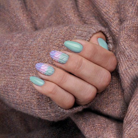 "548 WINDY DAY - Semilac Soak Off Gel / Hybrid Nail Polish - ""Sweather Weather"" Collection - SemilacUSA"