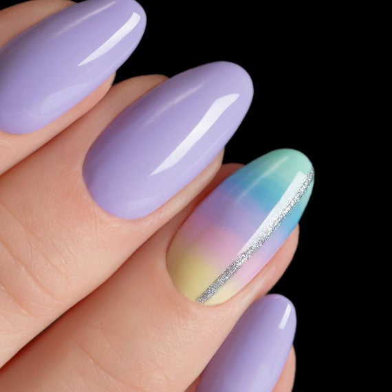 559 VIOLET BLAST Semilac Soak Off Gel / Hybrid Nail Polish - SUPER COVER Collection - SemilacUSA