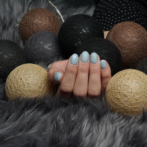 "561 COSY DAY Semilac Soak Off Gel / Hybrid Nail Polish - ""SWEATER WEATHER"" Collection - SemilacUSA"