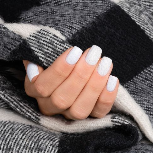 "563 HEARTWARMING Semilac Soak Off Gel / Hybrid Nail Polish - ""SWEATER WEATHER"" Collection"