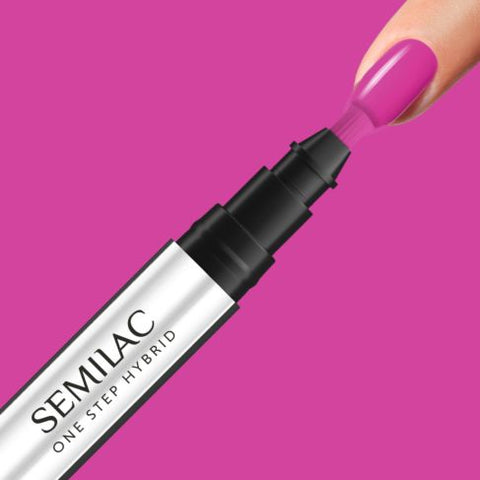 685 PINK PURPLE Semilac STEP ONE Hybrid / Gel Polish Marker - SemilacUSA