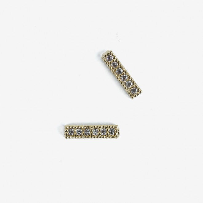 788 GOLD STRAPS  Semilac Nail Art Decorations 2 pcs - SemilacUSA
