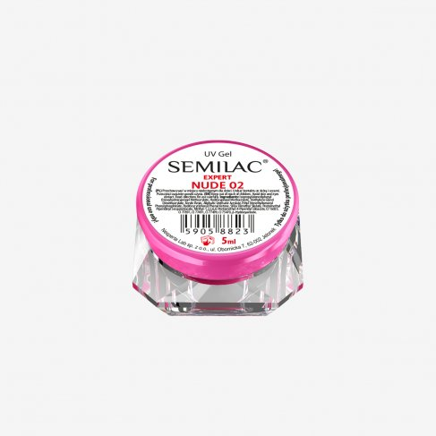 Semilac UV Gel Expert Nude 2 5ML