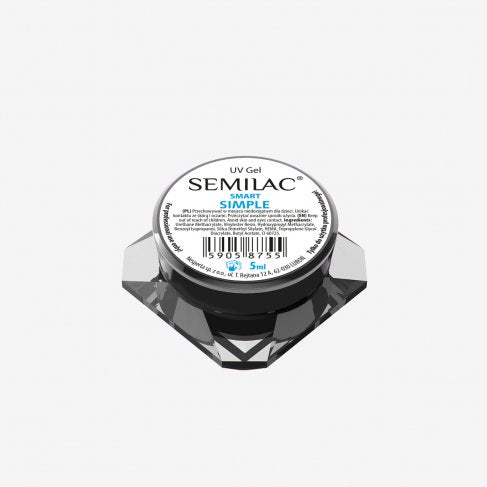 Semilac UV Gel Smart Simple 5 ML - SemilacUSA